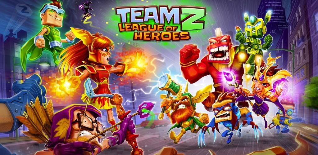 Team Z – League of Heroes 1.6.1 دانلود بازی لیگ قهرمانان اندروید + مود + دیتا