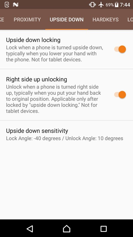 Touch Protector Donate 4.3.3 دانلود برنامه غیر فعال کردن لمس اندروید