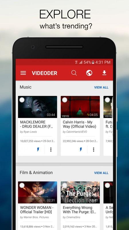 Videoder Video & Music Downloader Premium 14.4.2 دانلود ویدیو اندروید