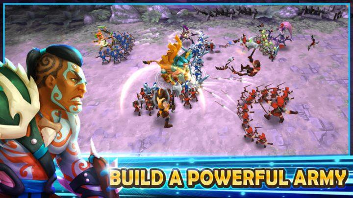 Wartide: Heroes of Atlantis 1.11.9 دانلود بازی قهرمانان آتلانتیس + مود