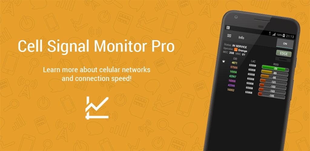 Cell Signal Monitor Pro 5.0 جمع آوری اطلاعات شبکه موبایل اندروید