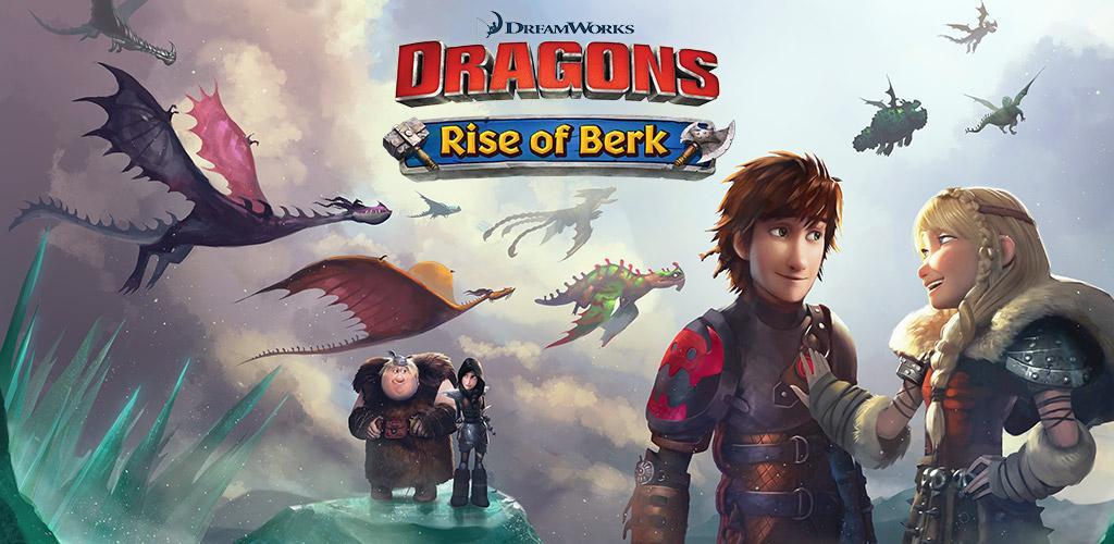 دانلود Dragons: Rise of Berk 1.53.8 بازی اژدهایان ظهور برک اندروید + مود