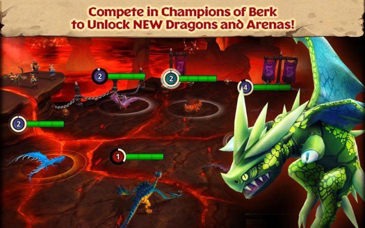 دانلود Dragons: Rise of Berk 1.46.27 بازی اژدهایان ظهور برک اندروید + مود