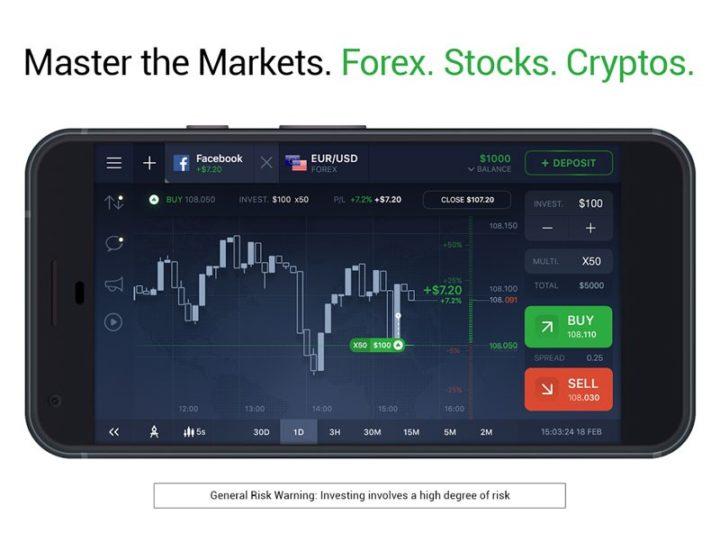 دانلود IQ Option 7.5.0 برنامه معاملات فارکس و سهام برای اندروید