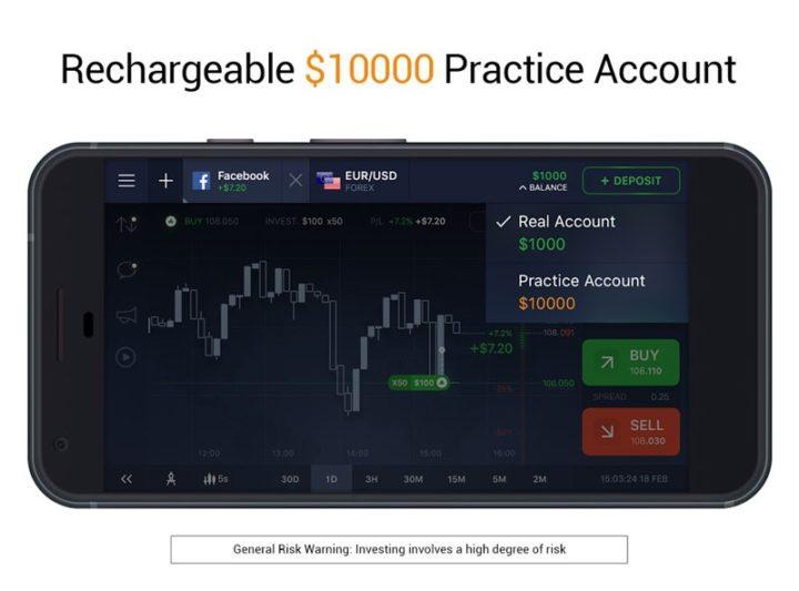 IQ Option 5.20.0 دانلود نرم افزار بروکر فارکس و ارز دیجیتال اندروید