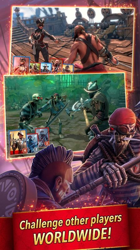 Pirate Tales 1.61 دانلود بازی دزدان دریایی اندروید + مود