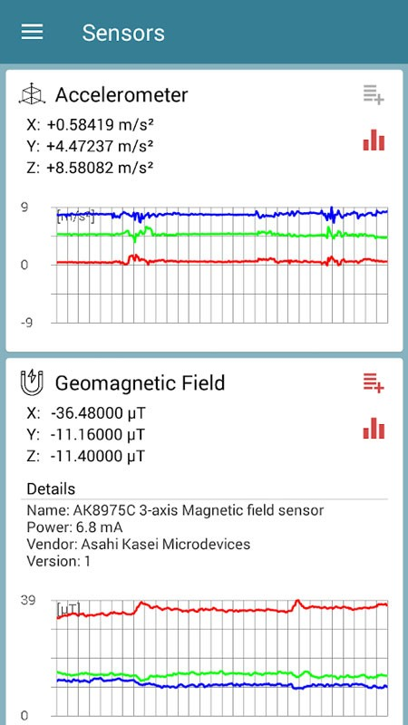 Sensors Toolbox Premium 1.2.2 برنامه تست سنسورهای موبایل اندروید