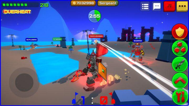 دانلود Armored Squad: Mechs vs Robots 2.1.8 بازی تیم زره پوش اندروید + مود