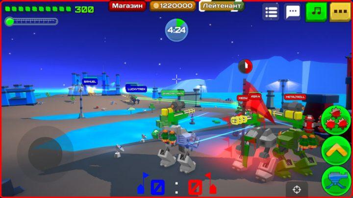 Armored Squad: Mechs vs Robots 1.6.3 دانلود بازی تیم زره پوش اندروید + مود