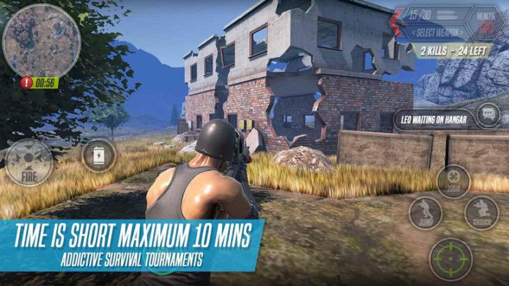 BOS : Battle Of Survival 1.0.9 دانلود بازی جنگ بقا اندروید + دیتا