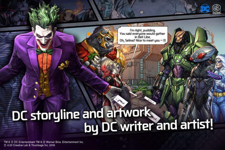 DC: UNCHAINED 1.2.9 دانلود بازی قهرمانان دی سی اندروید