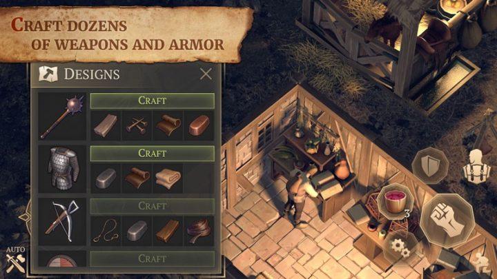 دانلود Grim Soul: Dark Fantasy Survival 3.0.1 بازی روح ترسناک اندروید + مود