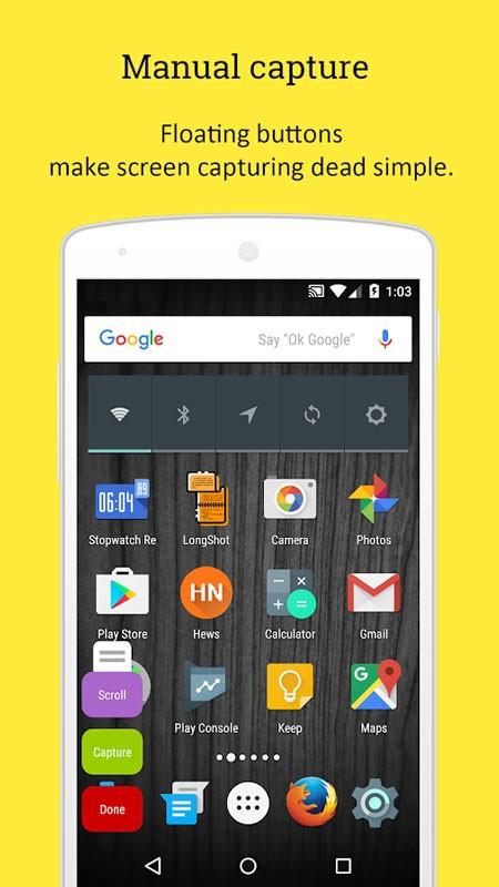 LongShot for long screenshot Pro 0.99.80 اسکرین شات بلند و طولانی