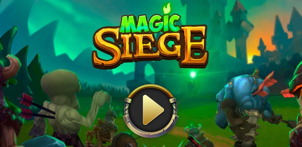 Magic Siege – Defender 1.8.21 دانلود بازی محاصره جادویی اندروید + مود