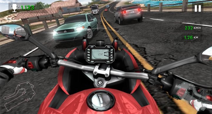 دانلود Moto Rider In Traffic 1.1.4 بازی موتور سواری در ترافیک اندروید + مود