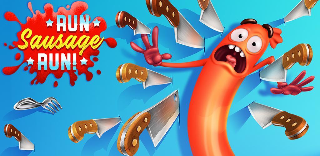 Run Sausage Run 1.14.0 دانلود بازی دویدن سوسیس اندروید + مود