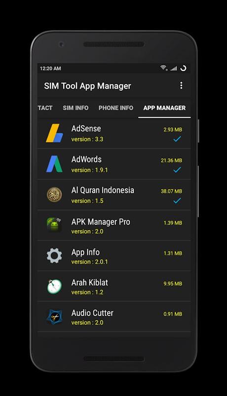 دانلود SIM Tool App Manager Pro 4.2.2 – برنامه مدیریت سیم کارت اندروید