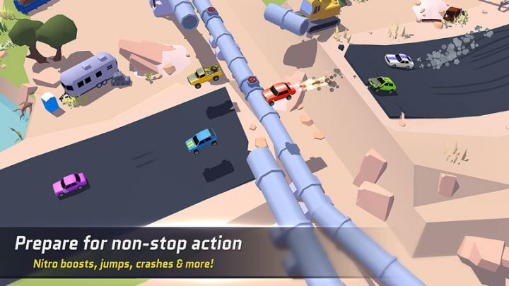SkidStorm – Multiplayer 1.0.157 دانلود بازی طوفان خط ترمز اندروید + مود