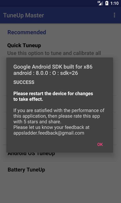 TuneUp Master Pro 4.0 دانلود نرم افزار بهینه سازی عملکرد اندروید