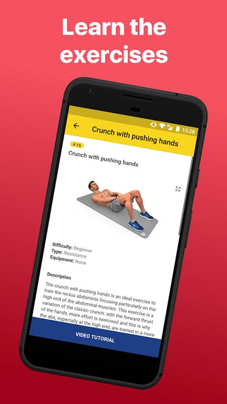 Abs Workout – Daily Fitness FULL 4.4.7 دانلود برنامه تمرین عضلات شکم اندروید