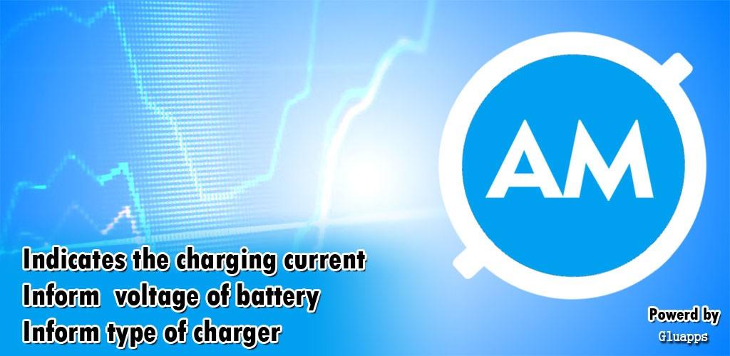 دانلود Ampere Meter Pro 2.3.1 برنامه مدیریت شارژ گوشی اندروید