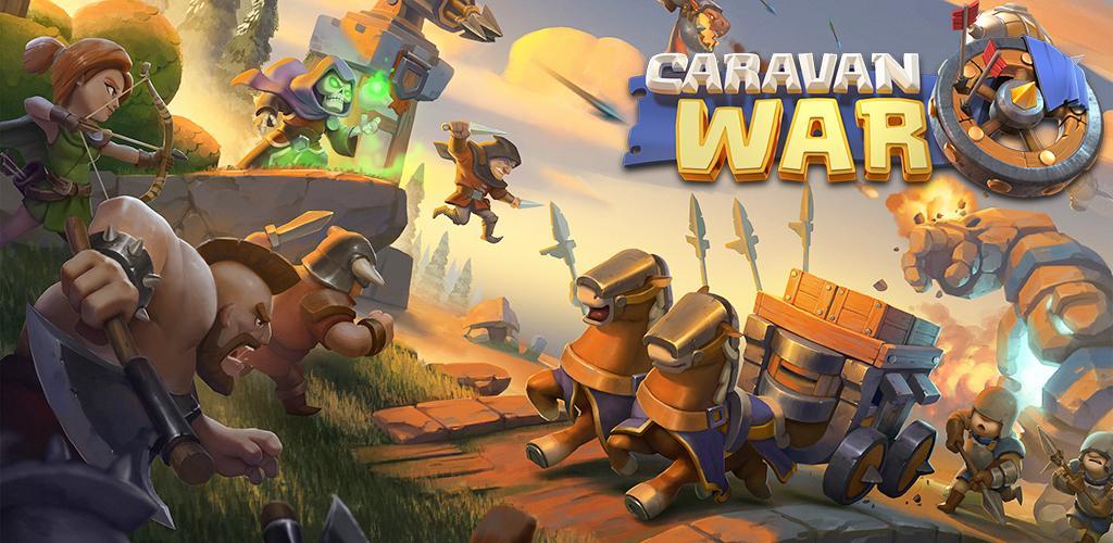 Caravan War: Heroes and Tower Defense 1.6.2 دانلود بازی جنگ کاروان اندروید