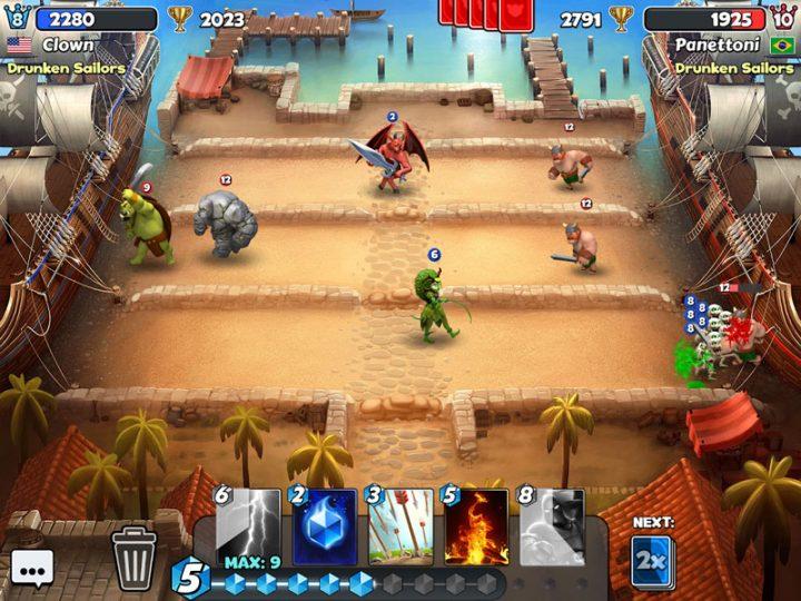 Castle Crush 3.20.3 دانلود بازی استراتژی شکست قلعه اندروید