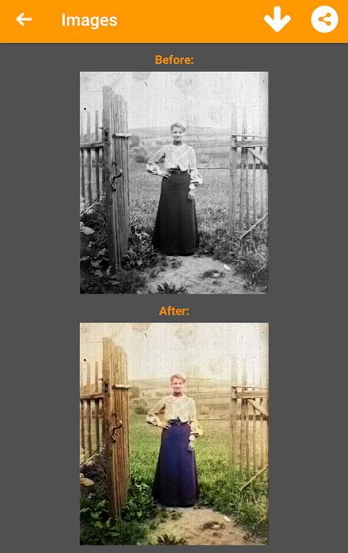 Chromatix PRO 1.3.98 تبدیل عکس سیاه و سفید به رنگی