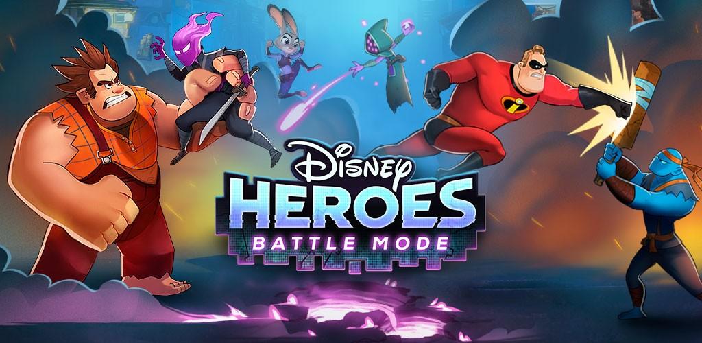 Disney Heroes: Battle Mode 1.4 دانلود بازی قهرمانان دیزنی اندروید