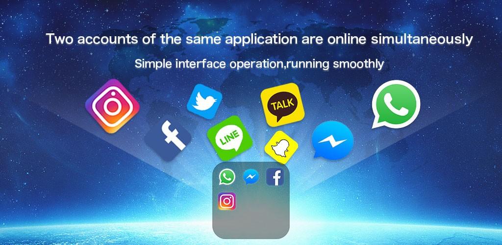 دانلود Dual Space Pro 3.0.8 – برنامه ساخت چند اکانت در گوشی اندروید