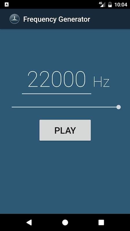 Frequency Generator Full 1.10 دانلود نرم افزار تولید فرکانس صوتی اندروید
