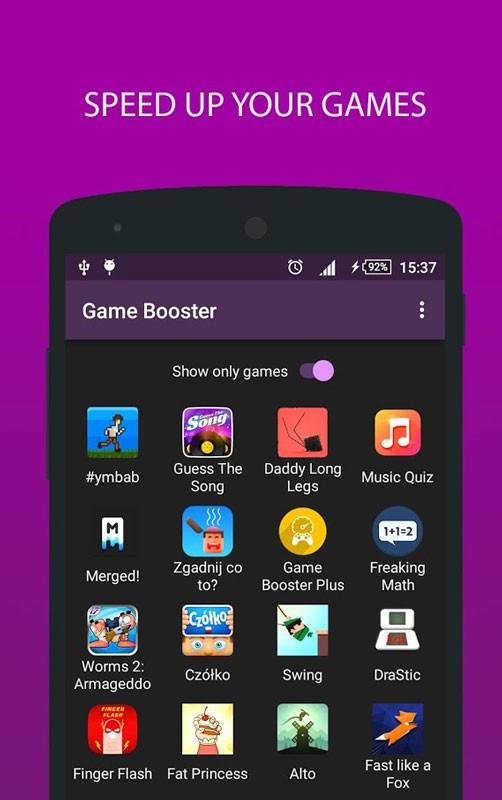Game Booster Pro 1.3.6 دانلود برنامه تقویت سرعت اجرای بازی اندروید