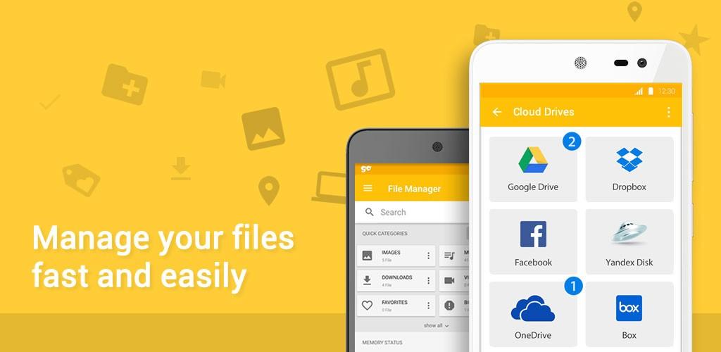 دانلود GM Files 2.0.19 برنامه مدیریت فایل قوی اندروید