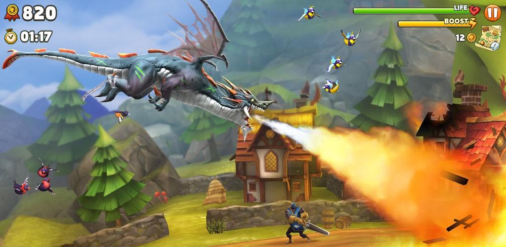 دانلود Hungry Dragon 2.0 – بازی اژدهای گرسنه اندروید + مود