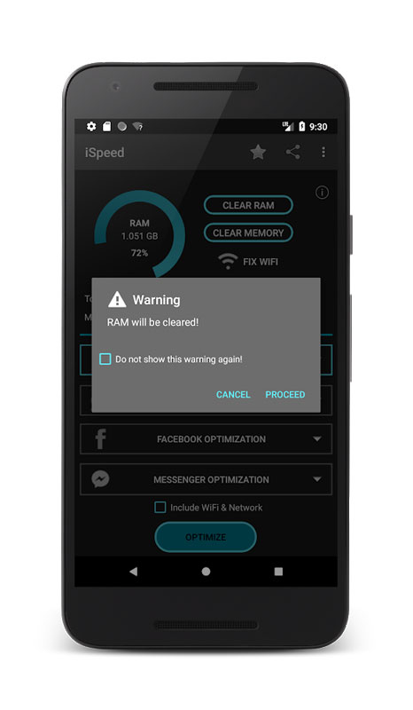 iSpeed – Premium Memory Booster 4.0 دانلود بهینه ساز قدرتمند اندروید