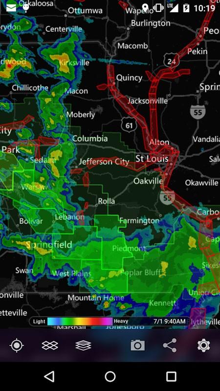 MyRadar Weather Radar Pro 7.6.4 دانلود برنامه هواشناسی دقیق اندروید
