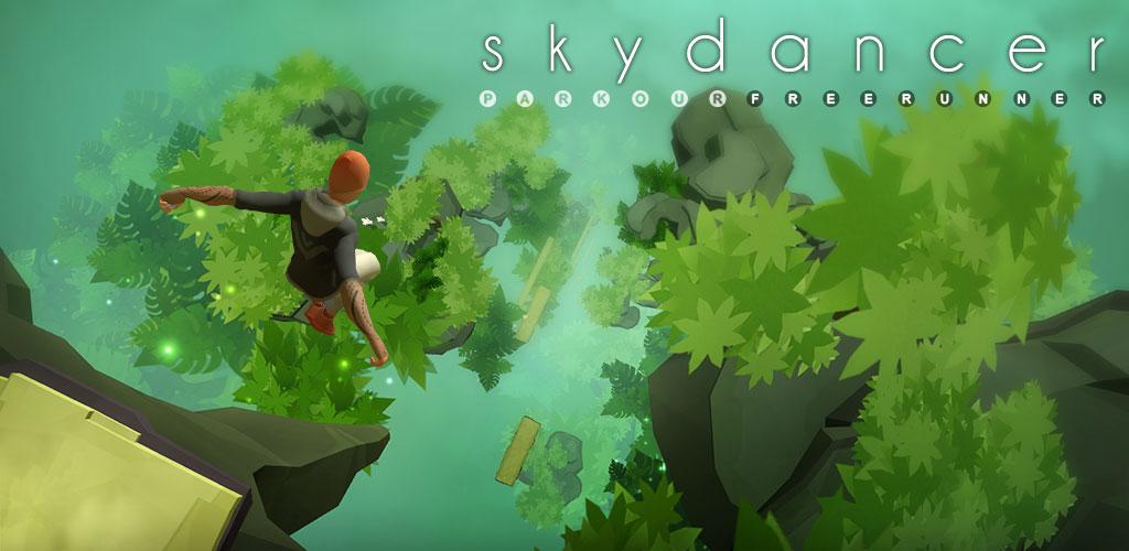 Sky Dancer Run 4.0.15 دانلود بازی پارکور دونده آسمان اندروید + مود