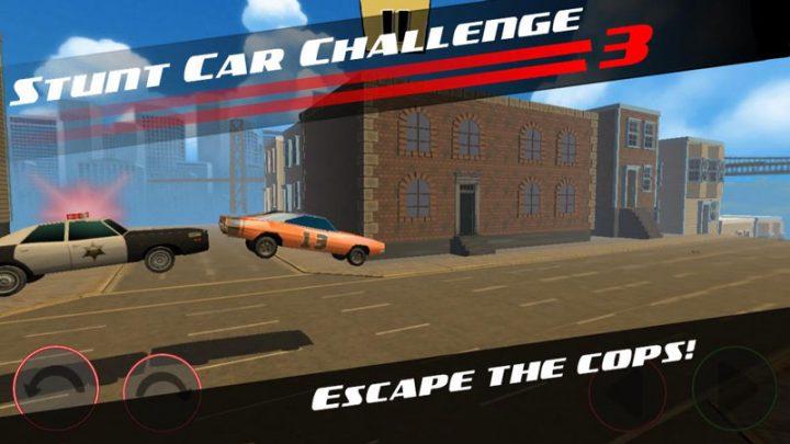 دانلود Stunt Car Challenge 3 3.30 بازی مسابقه بدلکاری ماشین اندروید + مود