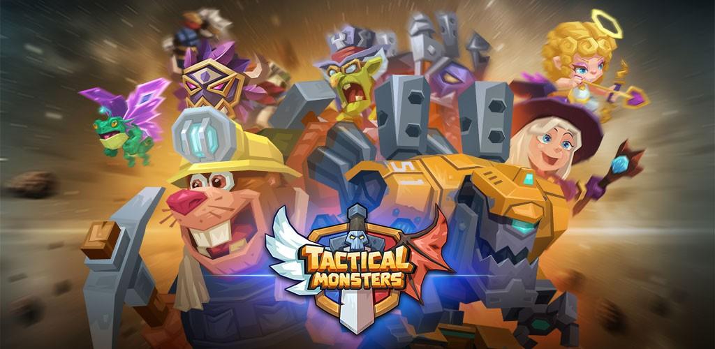 دانلود Tactical Monsters Rumble Arena 1.16.5 بازی هیولا تاکتیکی اندروید + مود