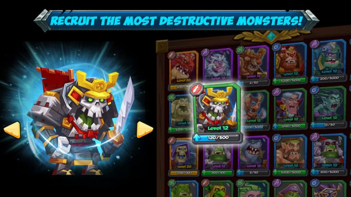 Tactical Monsters Rumble Arena 1.15.4 دانلود بازی هیولا تاکتیکی اندروید + مود