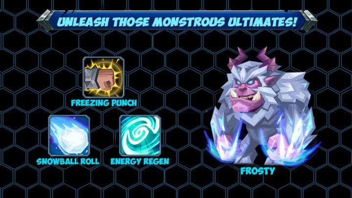 دانلود Tactical Monsters Rumble Arena 1.19.4 بازی هیولا تاکتیکی اندروید + مود