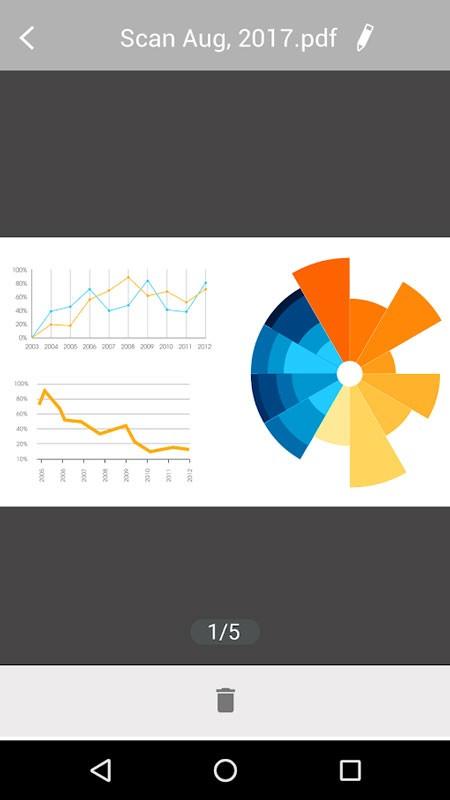 U Scanner Premium 2.3.2 دانلود اسکنر عکس به PDF اندروید