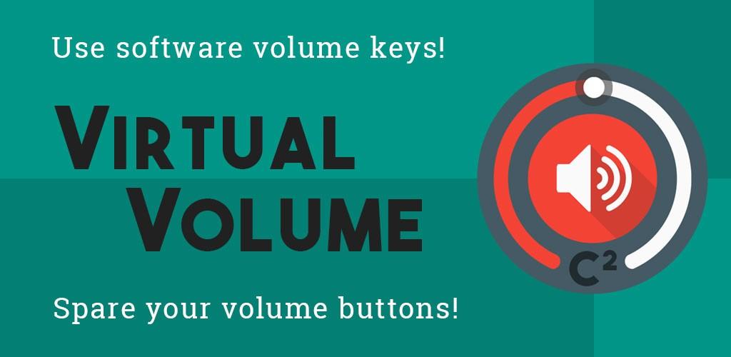 Virtual Volume 1.5.7 دانلود برنامه دکمه شناور کنترل صدا اندروید