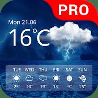Weather Pro 2.3 دانلود نرم افزار پیش بینی دقیق آب و هوا اندروید