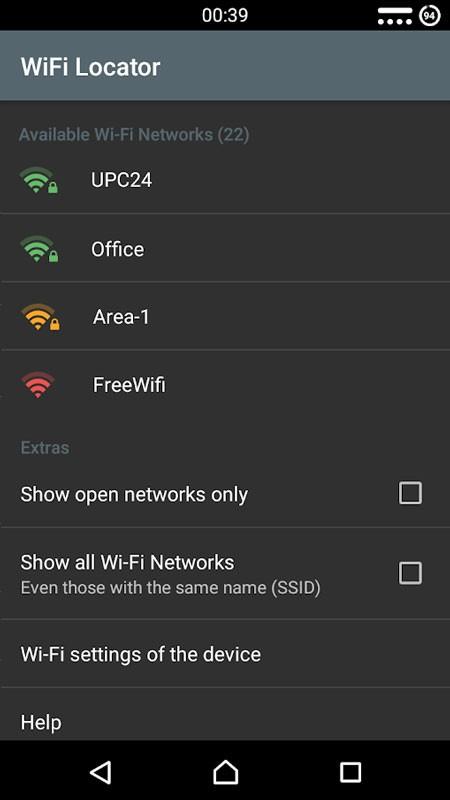 WiFi Locator 1.97 دانلود برنامه تنظیم خودکار عملکرد وای فای اندروید