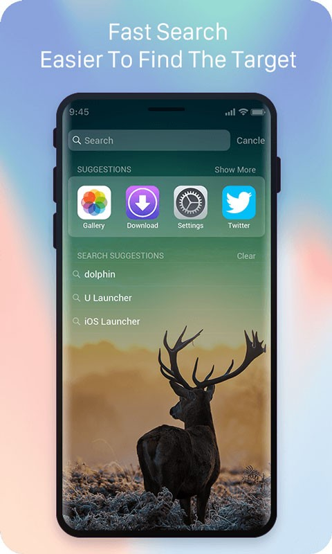X Launcher Prime 1.6.3 دانلود لانچر آیفون iOS 11 اندروید