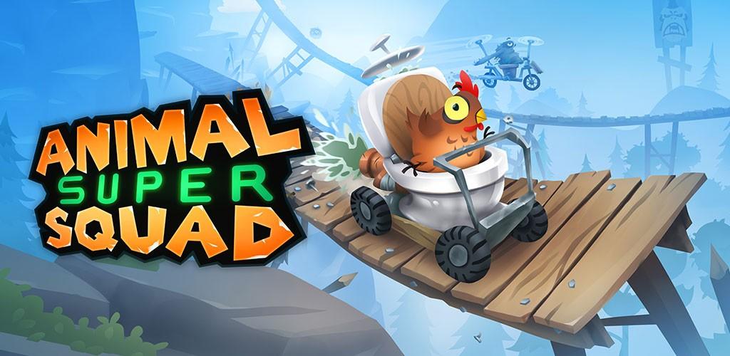 Animal Super Squad 1.2.0 دانلود بازی ماجراجویی فوق العاده اندروید + دیتا