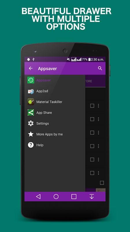 Appsaver Pro 43.0 بکاپ گیری و بازیابی برنامه های اندروید