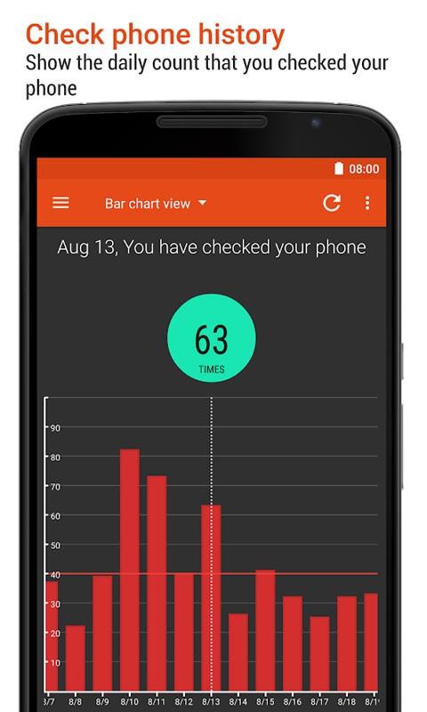 App Usage Pro 4.69 تاریخچه زمان استفاده از اپلیکیشن های اندروید