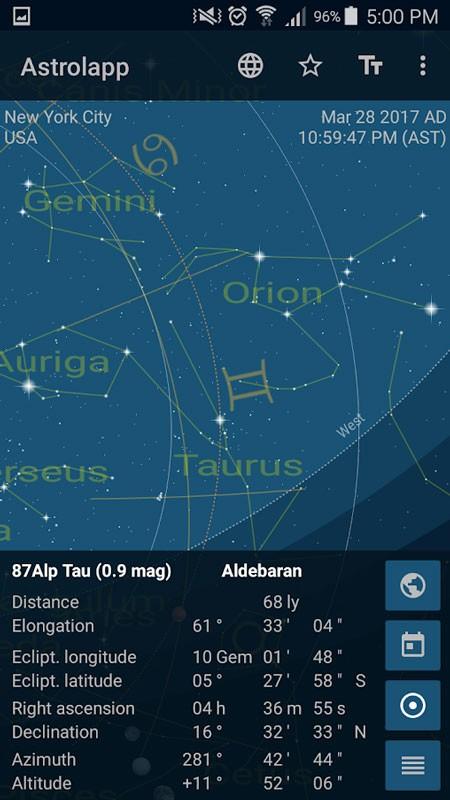 دانلود Astrolapp Live Planets and Sky Map 5.1.0.0 – برنامه منظومه شمسی